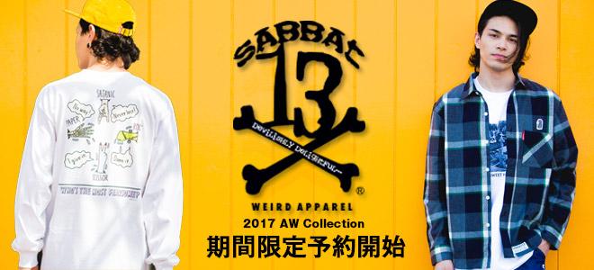 SABBAT13の最新作、期間限定予約受付中!モッズ・コートやスカジャンなどのアウターやキャップ&バッグなどのアクセサリーなどがラインナップ!
