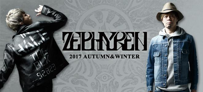 Zephyren(ゼファレン)からミリタリー・ウエアの定番MA-1をはじめペンキ加工を施したL/Sシャツなどが一斉入荷!