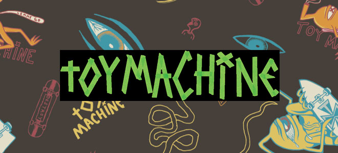 """TOY MACHINE(トイ・マシーン)から""""sect""""を刺繍で施したロンTやキャップ、THRASHERからはカラバリ豊富な定番Tシャツが登場!"""