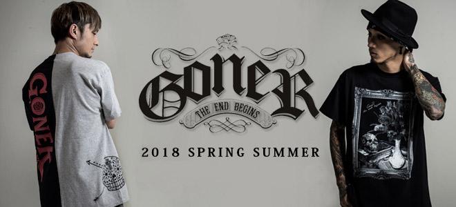 GoneR(ゴナー)から左右別のカラーリングで仕上げたスプリットTをはじめ、サコッシュ、ショート・パンツなど新作一斉新入荷!