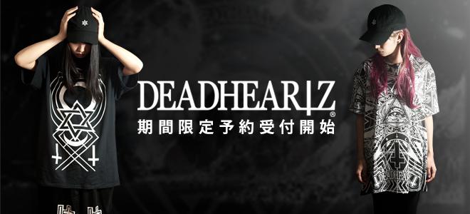 """DEADHEARTZからバックに""""Little Devil""""の特大プリントを施したゲキクロ限定ビッグTシャツのニュー・カラーが登場!完売していたブラックも再入荷!"""