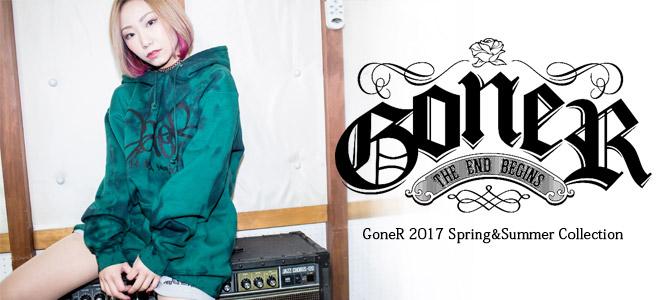 GoneRよりワンピースやロング・スカートをはじめ様々なシーンに活躍のTシャツなど新作一斉入荷!