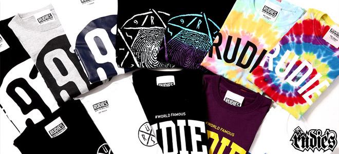 RUDIE'Sからギャラクシー・ロゴを落としこんだTシャツ、SILLENT FROM MEからはロー・キャップなどのアクセサリーが登場!