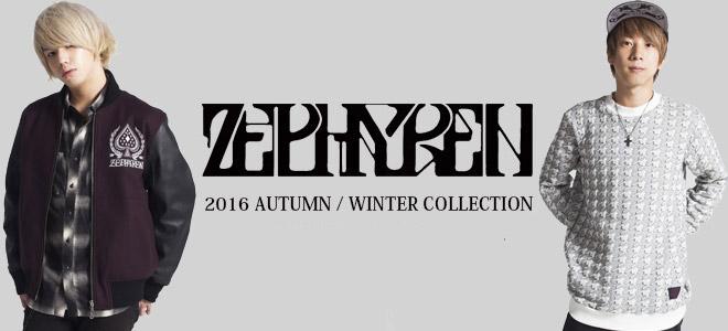 Zephyren(ゼファレン)からペンキ加工を施したデニム・ジャケットをはじめワイド・シルエット・パーカーなど新作アイテム一斉入荷!