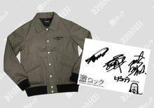 Zephyren ジャケット&MY FIRST STORYのTeru、Hiro、Nob のサイン色紙