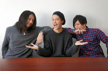 MAH(SiM)× Masato(coldrain)× 猪狩秀平(HEY-SMITH) コラボサイン色紙
