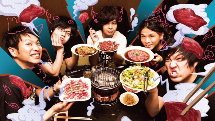 GRILLED MEAT YOUNGMANS サイン入りポスター+キーホルダー+サイン色紙