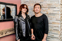SUGIZO(LUNA SEA)×TOSHI-LOW(BRAHMAN) コラボサイン色紙