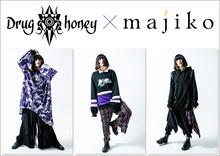 Drug Honeyのパーカー+majikoのサイン色紙