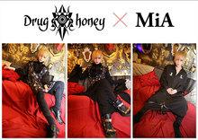 DrugHoney パーカー+MiAのサイン色紙
