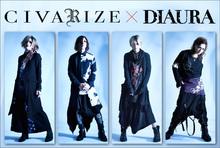 CIVARIZE × DIAURAのパーカー+キャップ+サイン入りフォトブック