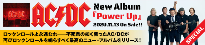 AC/DC『Power Up』特集!!