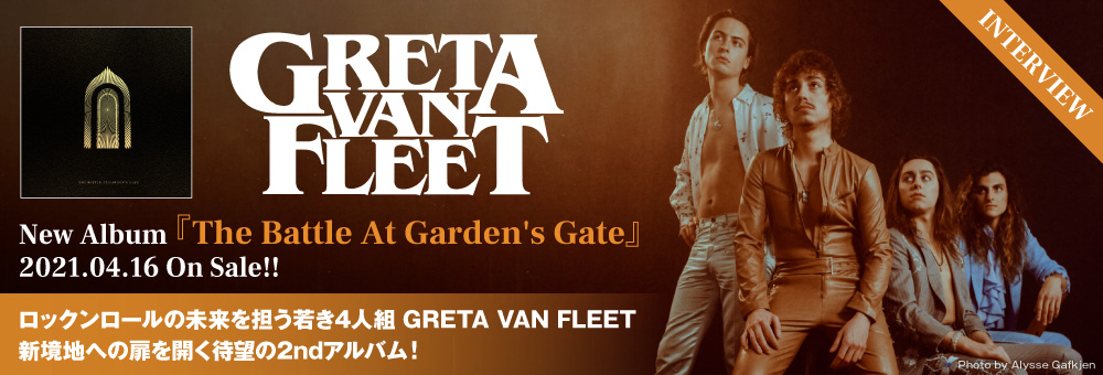 GRETA VAN FLEET